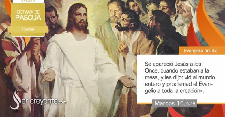 """Photo of Evangelio del día 10 abril 2021 (""""Se apareció Jesús a los Once"""")"""