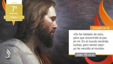 """Photo of Evangelio del día 17 mayo 2021 (""""Tened valor: yo he vencido al mundo"""")"""