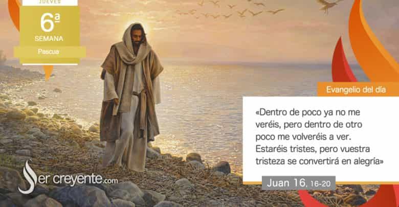 """Photo of Evangelio del día 13 mayo 2021 (""""Vuestra tristeza se convertirá en alegría"""")"""