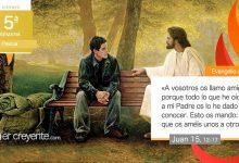 """Photo of Evangelio del día 7 mayo 2021 (""""A vosotros os llamo amigos"""")"""