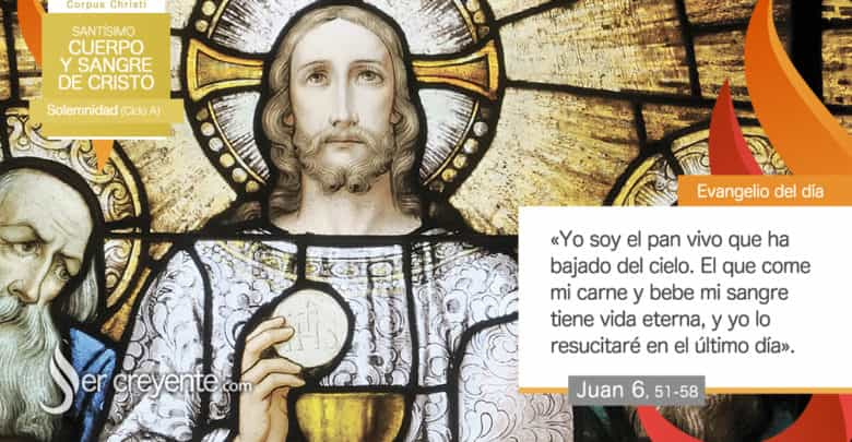 Photo of #EvangelioDelDia – 14 junio 2020 (Corpus Christi)