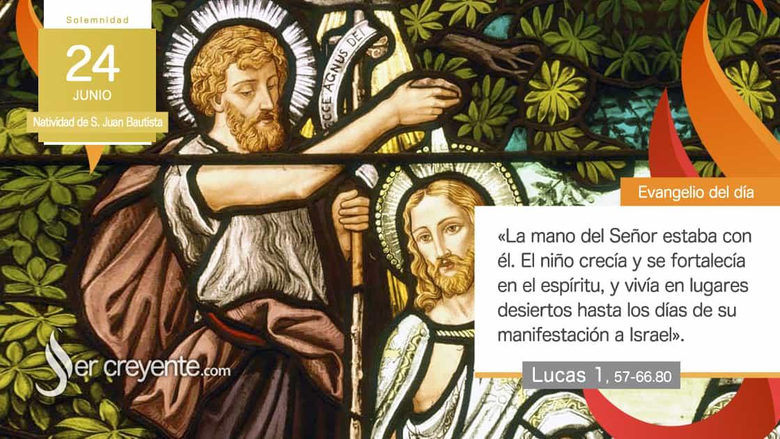 24 junio natividad san juan bautista