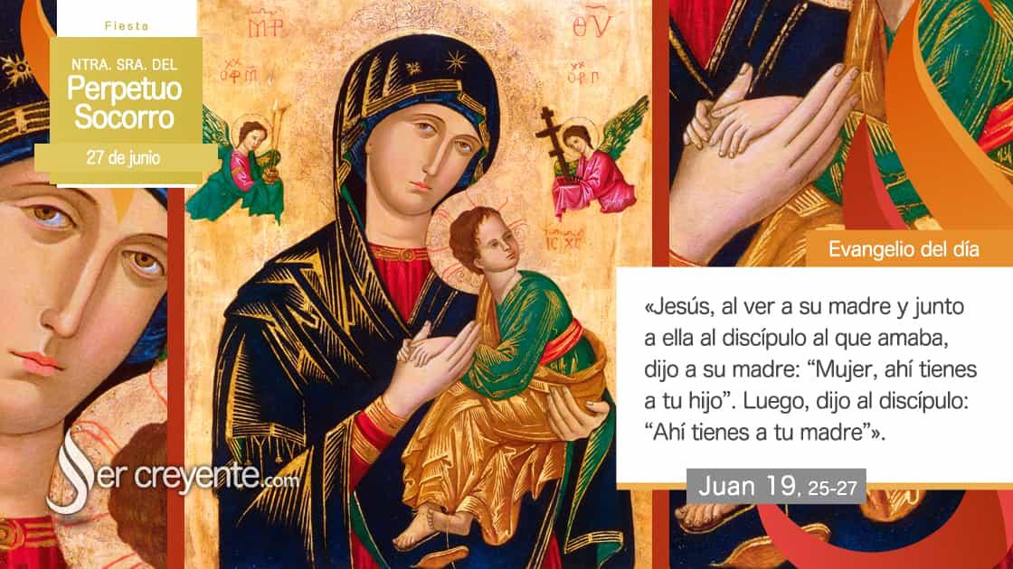 27 junio virgen perpetuo socorro maria nuestra señora