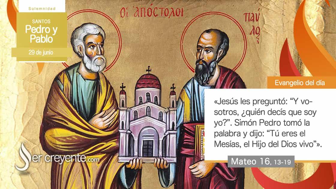 29 junio santos pedro y pablo