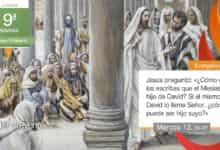"""Photo of Evangelio del día 4 junio 2021 (""""¿Cómo dicen que el Mesías es hijo de David?"""")"""