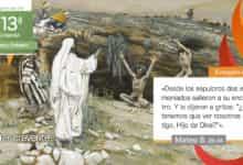 """Photo of Evangelio del día 30 junio 2021 (""""Dos endemoniados salieron a su encuentro"""")"""