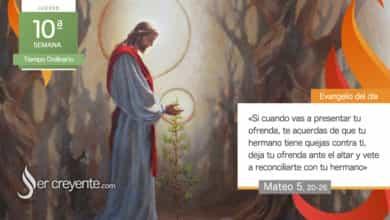 """Photo of Evangelio del día 10 junio 2021 (""""Vete primero a reconciliarte con tu hermano"""")"""