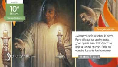 """Photo of Evangelio del día 8 junio 2021 (""""Vosotros sois la sal de la tierra"""")"""