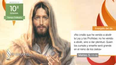 """Photo of Evangelio del día 9 junio 2021 (""""No he venido a abolir, sino a dar plenitud"""")"""