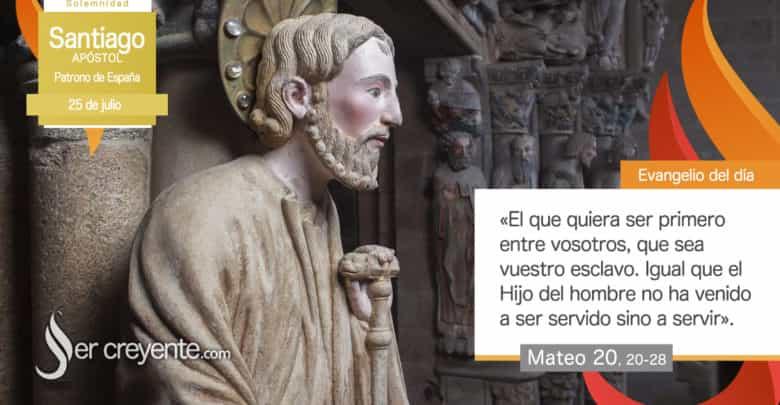Photo of Evangelio del día 25 julio 2021 (Santiago apóstol, patrono de España)