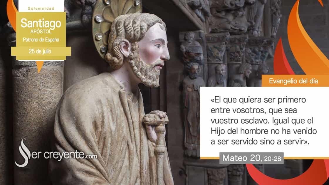 25 julio santiago apostol patrono de españa