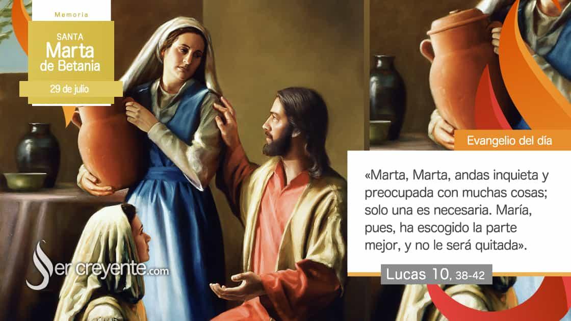 29 julio santa marta de betania