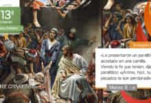 """Photo of Evangelio del día 1 julio 2021 (""""Tus pecados te son perdonados"""")"""