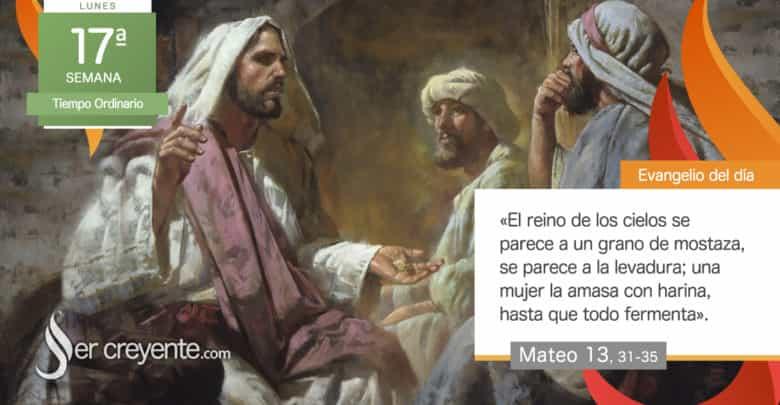 """Photo of Evangelio del día 26 julio 2021 (""""El reino de los cielos se parece a la levadura"""")"""