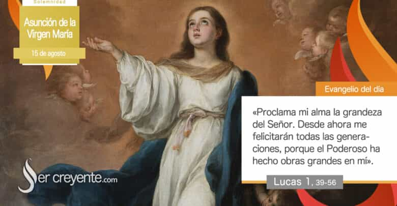Photo of #EvangelioDelDia – 15 agosto 2020 (Asunción de la Virgen María)