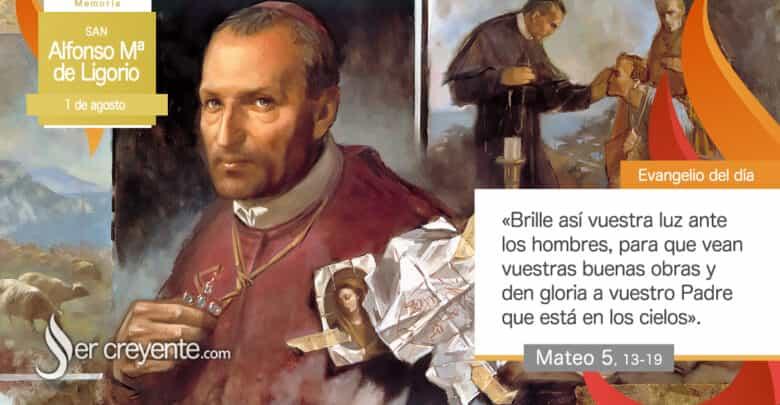 Photo of San Alfonso Mª de Ligorio (1 agosto)