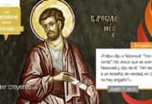 Photo of Evangelio del día 24 agosto 2021 (San Bartolomé, apóstol)
