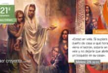 """Photo of Evangelio del día 26 agosto 2021 (""""Estad en vela"""")"""