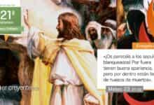 """Photo of Evangelio del día 25 agosto 2021 (""""Os parecéis a los sepulcros blanqueados"""")"""
