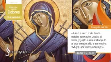 Photo of #Evangelio del día – 15 septiembre 2020 (Ntra. Sra. de los Dolores)