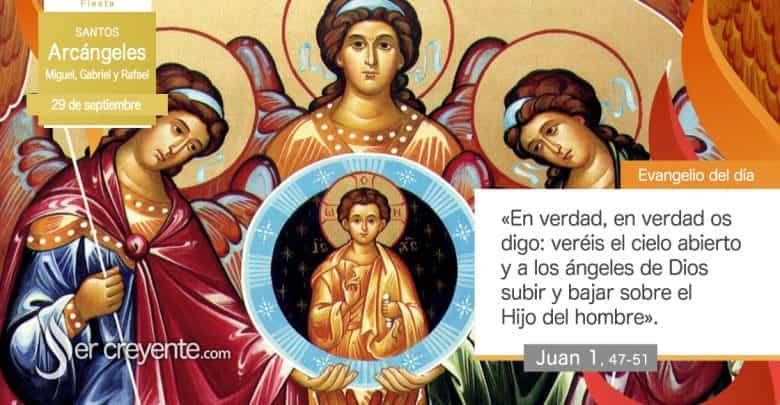 Photo of #EvangelioDelDia – 29 septiembre 2020 (Arcángeles Miguel, Gabriel y Rafael)