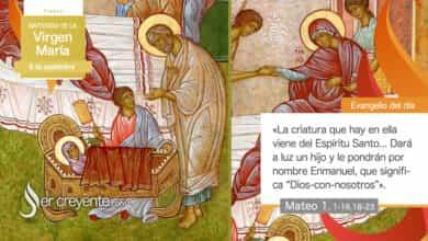 Photo of #EvangelioDelDia – 8 septiembre 2020 (Natividad de la Virgen María)