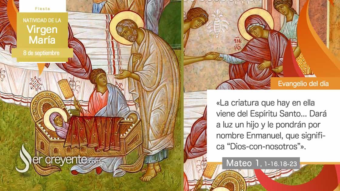 8 septiembre natividad virgen maria