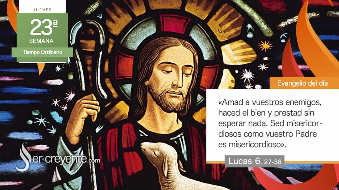 jueves 23 xxiii tiempo ordinario misericordiosos