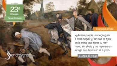 """Photo of Evangelio del día 10 septiembre 20210 (""""¿Acaso puede guiar un ciego a otro ciego?"""")"""