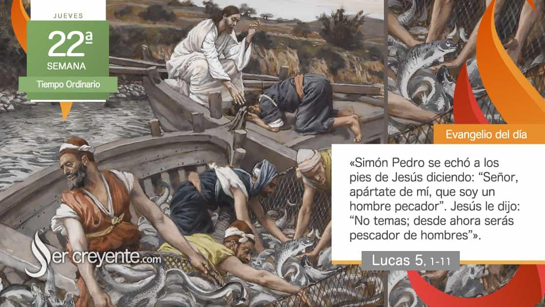 jueves xxii 22 tiempo ordinario pescador de hombres