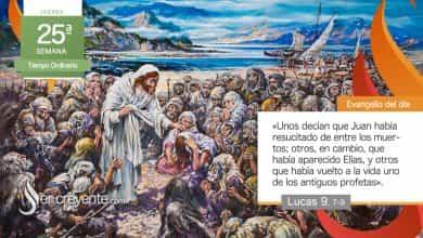 """Photo of Evangelio del día 23 septiembre 2021 (""""¿Quién es este de quien oigo semejantes cosas?"""")"""