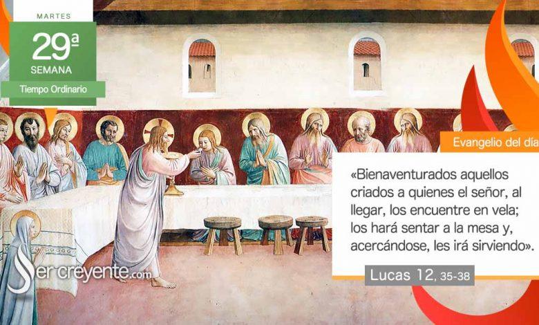 """Photo of Evangelio del día 19 octubre 2021 (""""Bienaventurados los criados en vela"""")"""