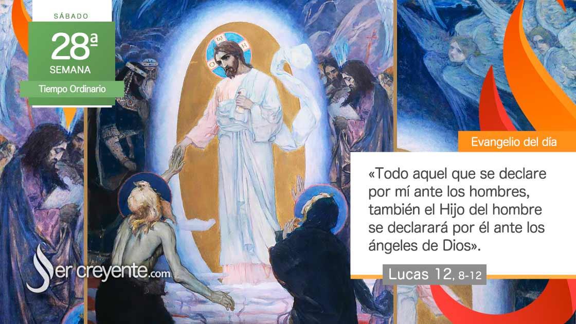 sabado 28 xxviii tiempo ordinario El Espíritu os enseñará lo que tenéis que decir
