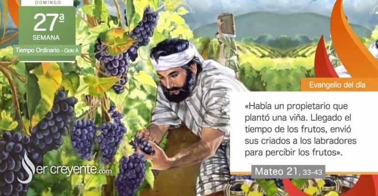 """Photo of #EvangelioDelDia – 4 octubre 2020 (""""Un propietario plantó una viña"""")"""