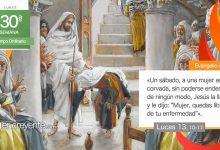 """Photo of Evangelio del día 26 octubre 2020 (""""Mujer, quedas libre de tu enfermedad"""")"""