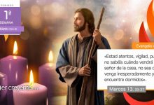 "Photo of Evangelio del día 29 noviembre 2020 (""Estad atentos, vigilad"")"