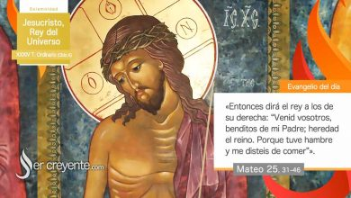 Photo of Evangelio del día 22 noviembre 2020 (Jesucristo, Rey del Universo)