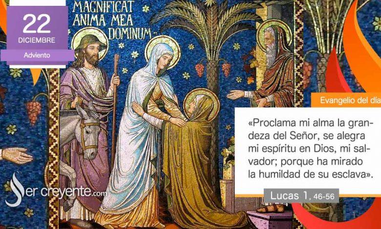 """Photo of Evangelio del día 22 diciembre 2020 (""""Proclama mi alma la grandeza del Señor"""")"""