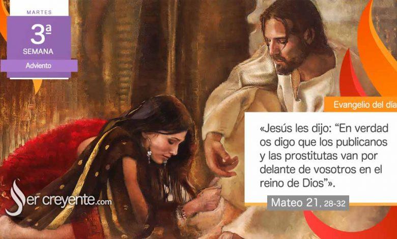 """Photo of Evangelio del día 15 diciembre 2020 (""""Las prostitutas van por delante de vosotros"""")"""