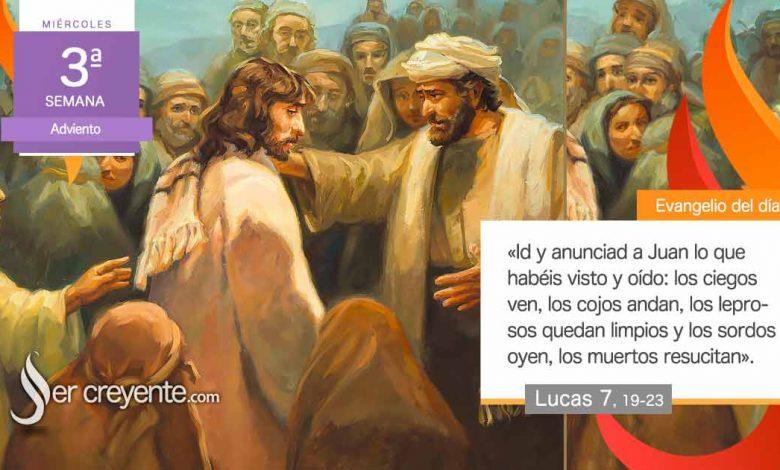 """Photo of Evangelio del día 16 diciembre 2020 (""""Los ciegos ven, los cojos andan…"""")"""
