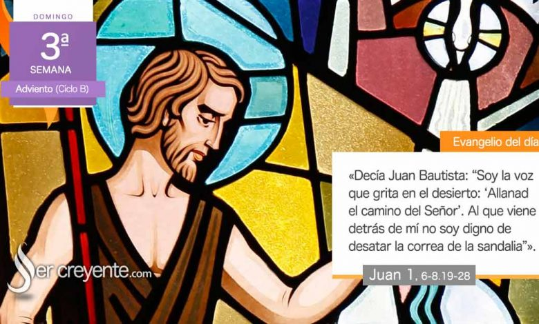"""Photo of Evangelio del día 13 diciembre 2020 (""""Juan daba testimonio de la luz"""")"""
