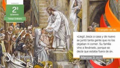 """Photo of Evangelio del día 23 enero 2021 (""""Se decía que estaba fuera de sí"""")"""