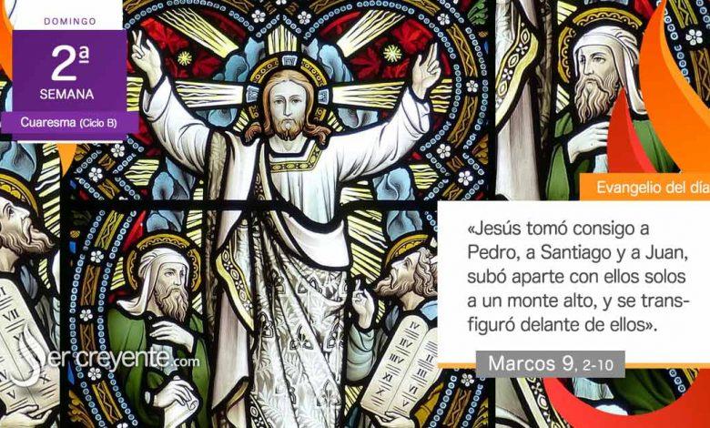 """Photo of Evangelio del día 28 febrero 2021 (""""Se transfiguró delante de ellos"""")"""