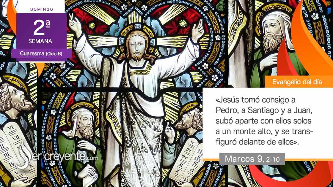 transfiguracion jesus cristo señor