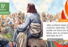 """Photo of Evangelio del día 9 febrero 2021 (""""Os aferráis a la tradición de los hombres"""")"""
