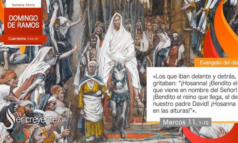 Photo of Evangelio del día 28 marzo 2021 (Domingo de Ramos)