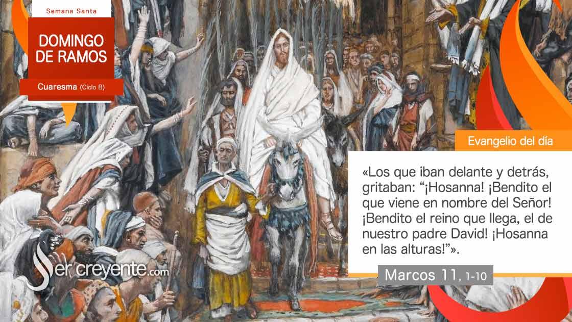 Domingo de Ramos ciclo b