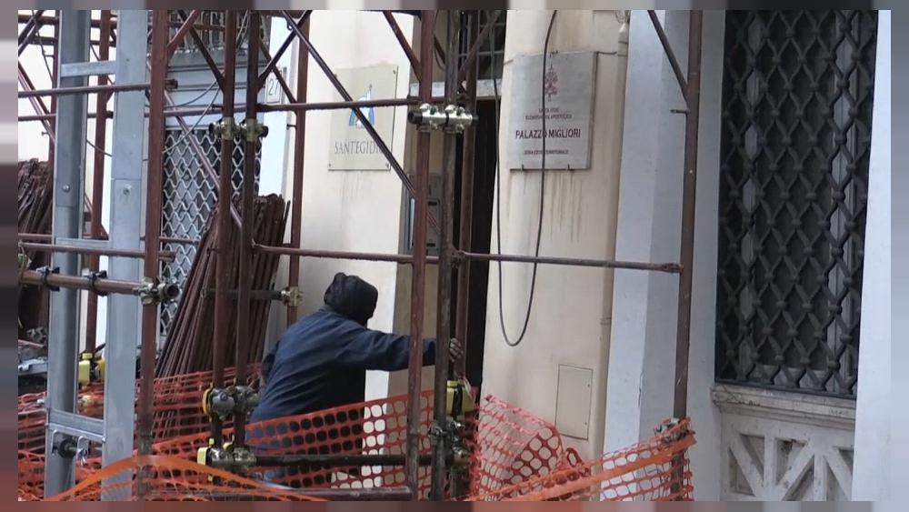 El Vaticano reconvierte el Palazzo Migliori en hogar para los sintecho