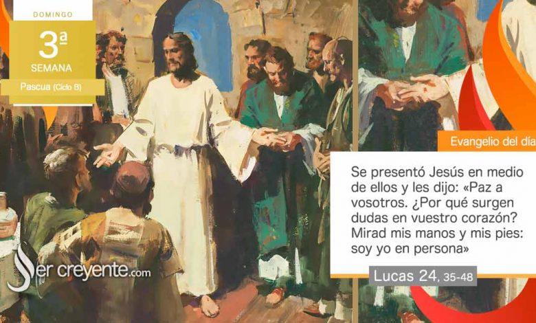"""Photo of Evangelio del día 18 abril 2021 (""""¿Por qué surgen dudas en vuestro corazón?"""")"""