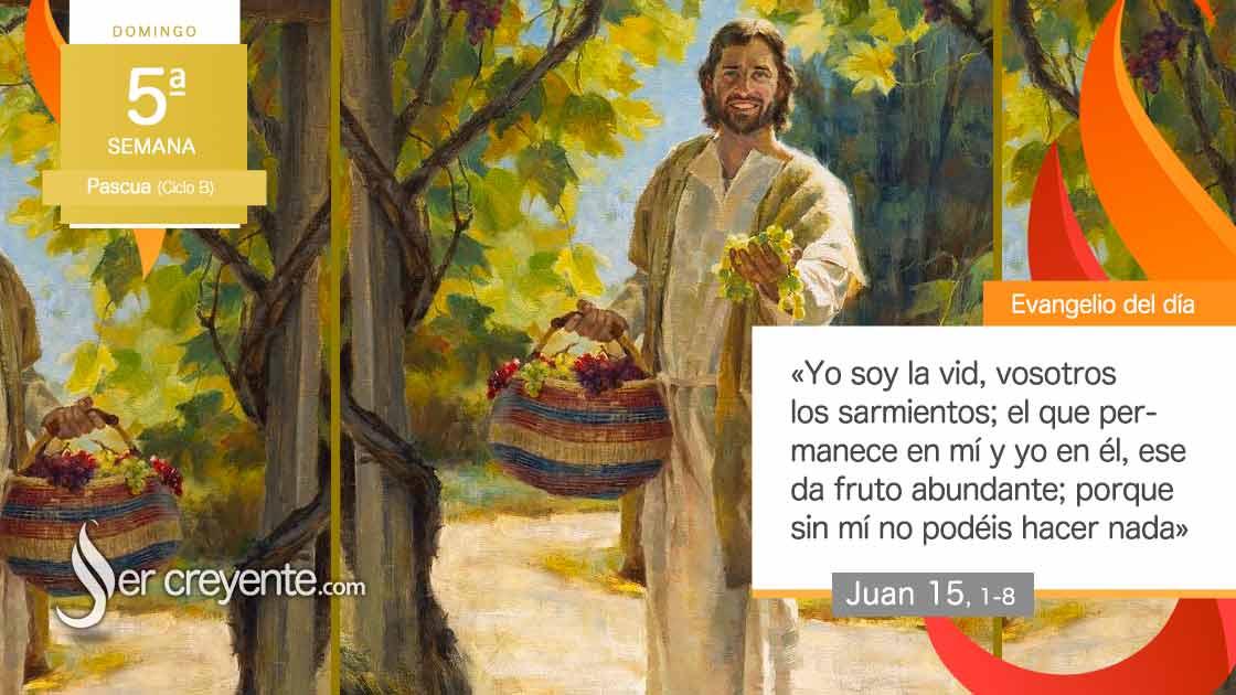 domingo V pascua vid sarmientos